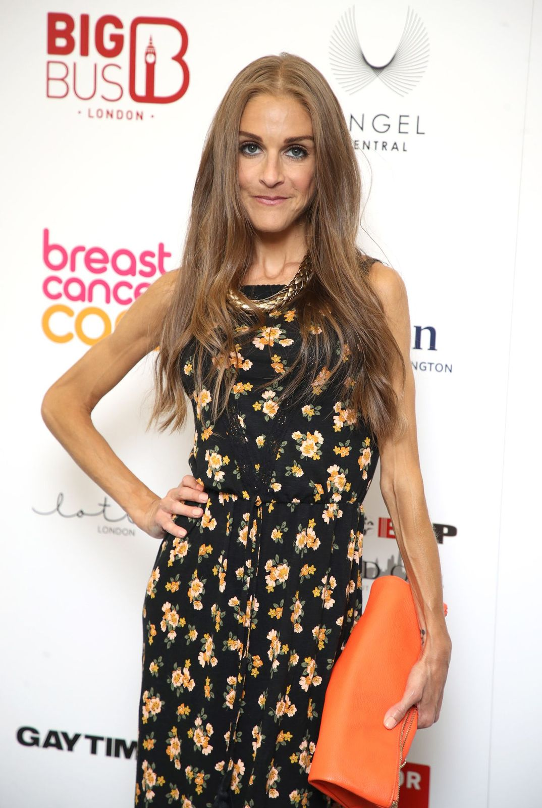 Nikki Grahame at the SpiceUp London VIP launch at Business Design Centre on July 27, 2018 | Getty Images