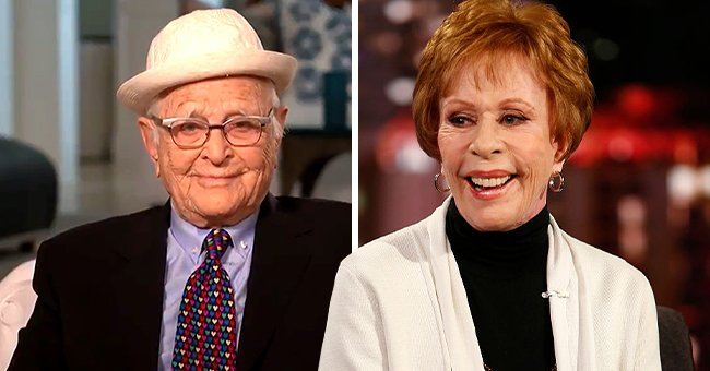 Norman Lear Remembers Carol Burnett as He Receives Her Eponymous Award at the Golden Globes
