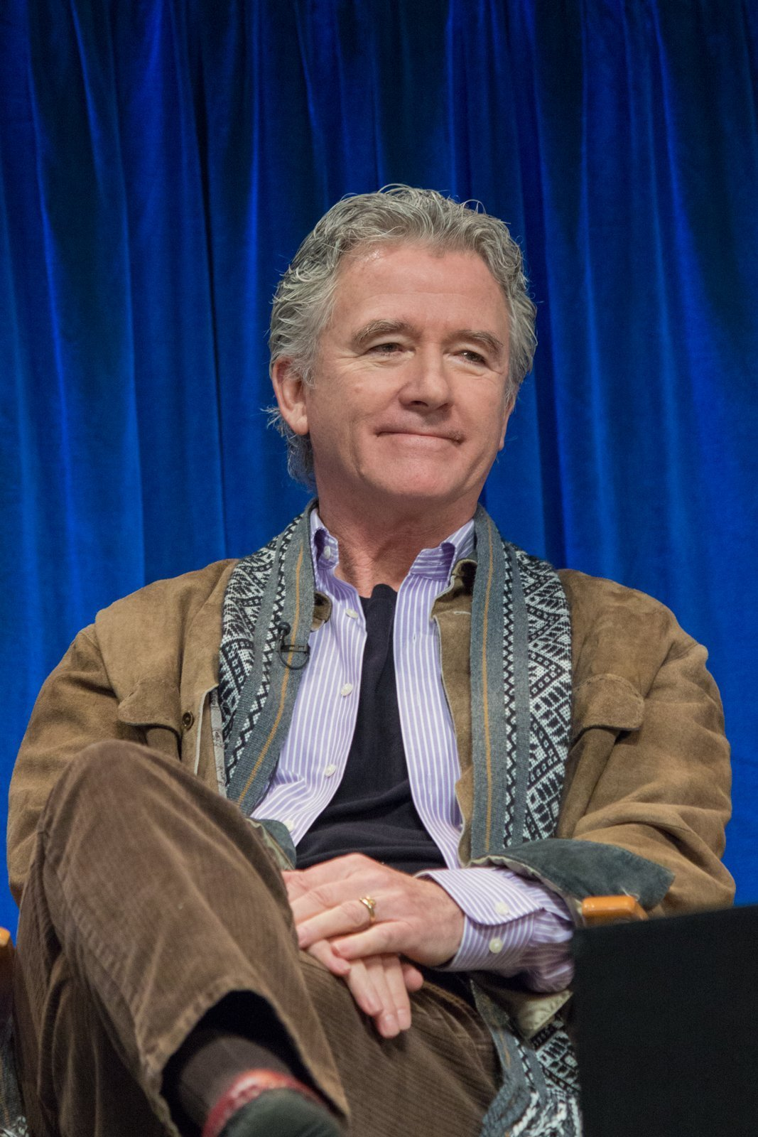 Patrick Duffy at the PaleyFest 2013 forum on the TV show Dallas. | Photo: Wikimedia Commons