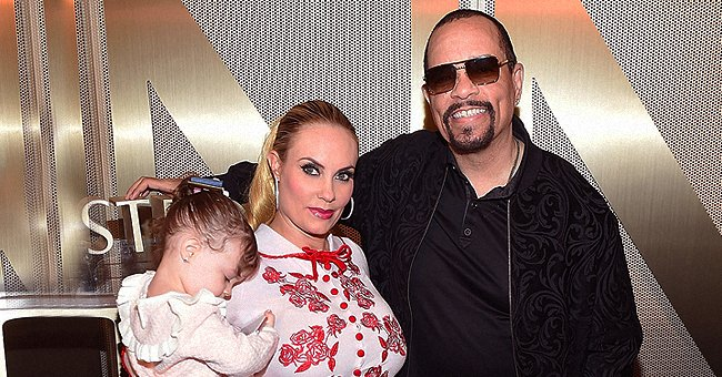 Ice-T's Wife Coco Austin & Daughter Chanel Show off Modeling Skills as They Pose Alike in Photo