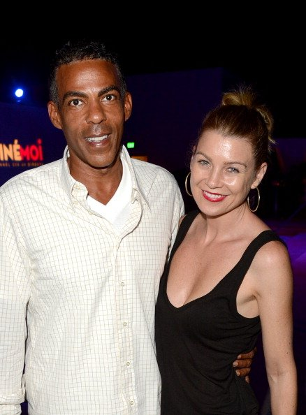 Chris Ivery and Ellen Pompeo in Beverly Hills, California on October 2, 2012.   Source: Getty Images