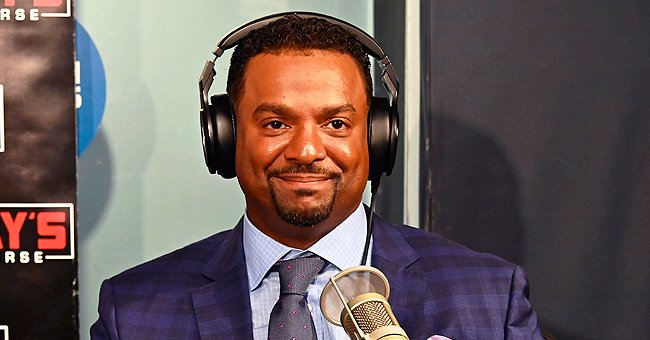 Alfonso Ribeiro's Daughter Ava Sue Wears Floral Jumpsuit and Eats Snacks in a Cute Photo