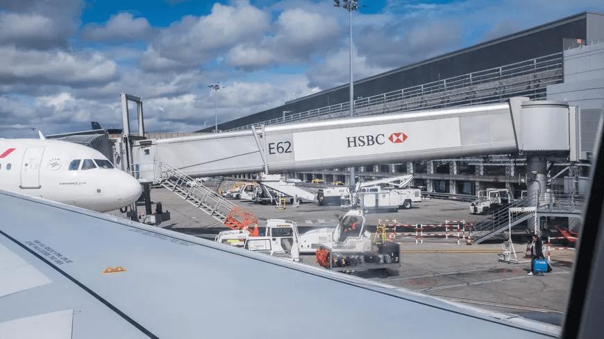 La photo de l'avion atterri  Source: France Bleu, Twitter