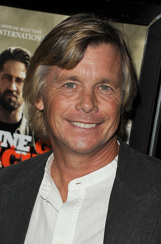 """Christopher Atkins arrives at the """"Machine Gun Preacher"""" Los Angeles premiere at Academy of Television Arts & Sciences  