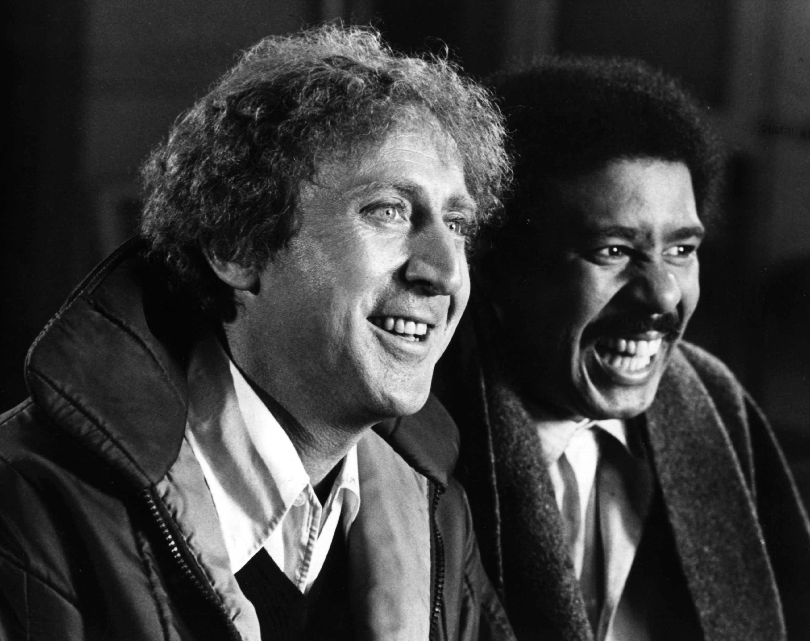 Late actors Richard Pryor and Gene Wilder | Photo: Getty images
