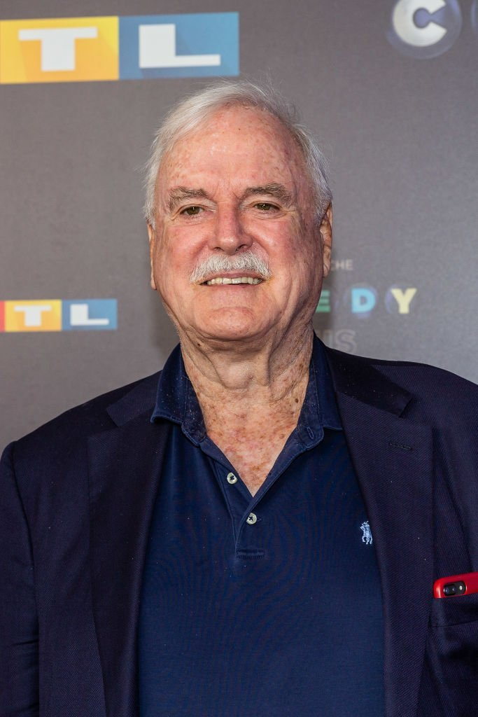 John Cleese pose for the 23rd annual German Comedy Awards at Studio in Koeln Muehlheim | Getty Images