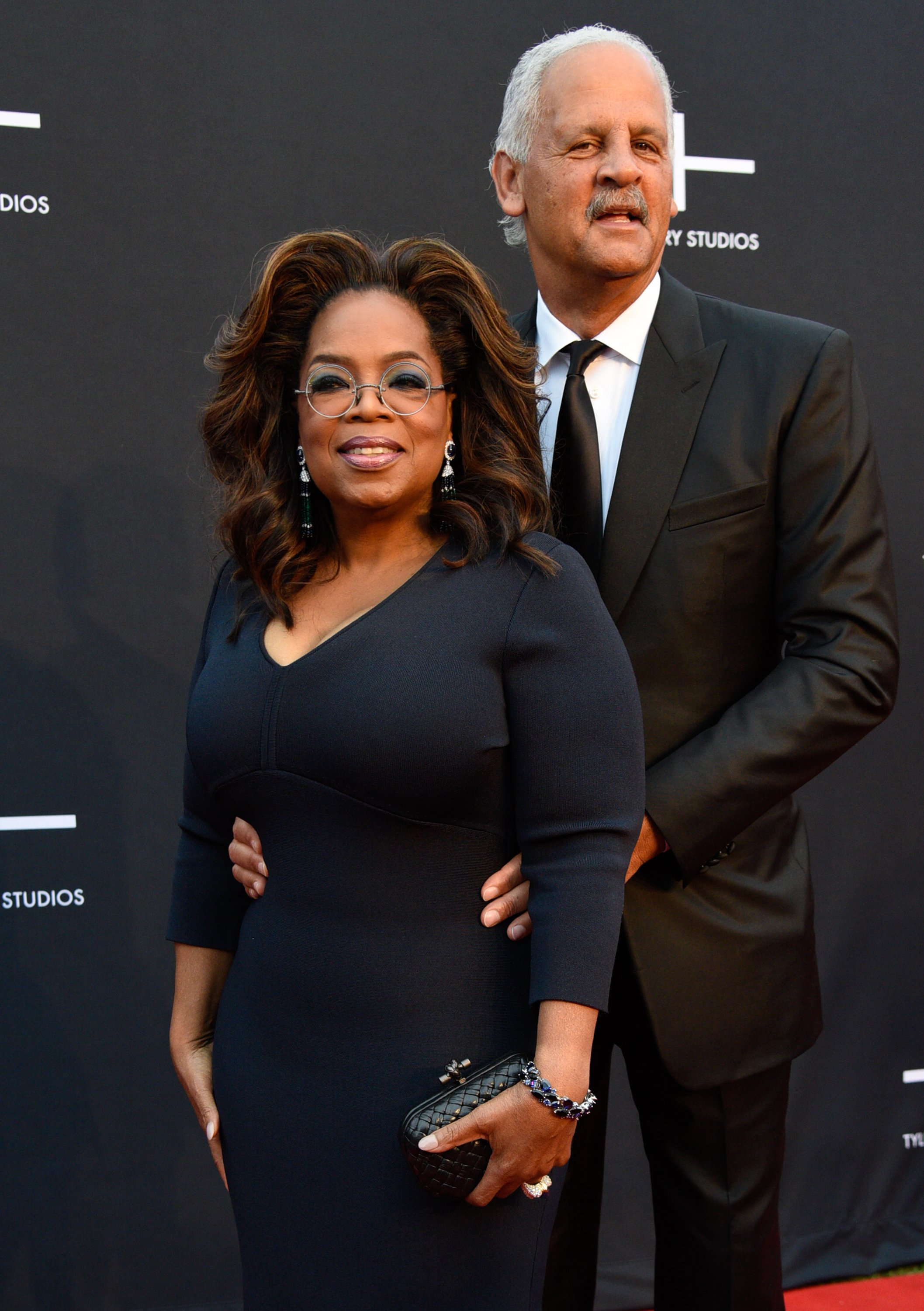 Oprah Winfrey and Stedman Graham attend Tyler Perry Studios grand opening gala on October 05, 2019   Photo: Getty Images.