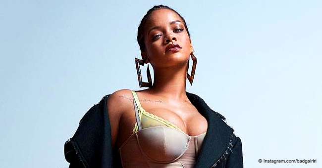 Rihanna Rocks Cornrows on Cover of Vogue Australia's May Issue