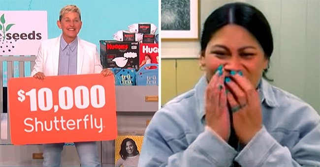 Ellen DeGeneres Gifts $10k to a Mom Who Did Not Know She Was Pregnant and Delivered Her Baby on a Plane