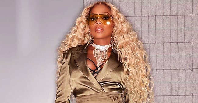 Mary J Blige Flaunts Toned Legs and Looks Gorgeous as Ever in Her Golden Outfit at Diddy's 50th Birthday Party