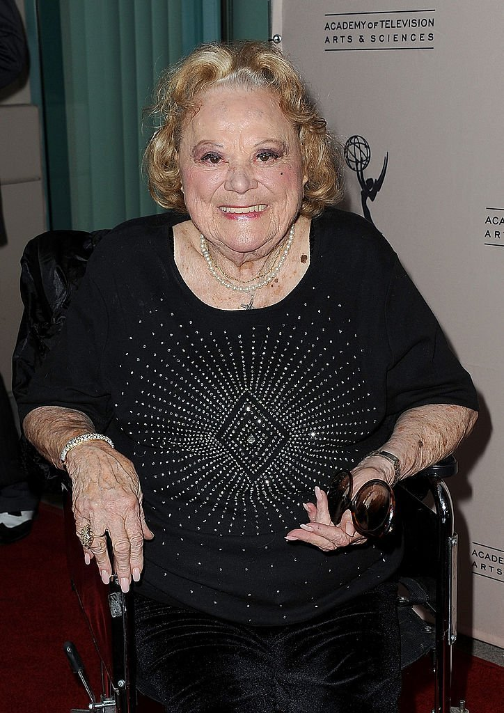 """Rose Marie attends at The Academy Of Television Arts & Sciences Presents """"An Evening Honoring Carl Reiner."""" Source: Getty Images"""