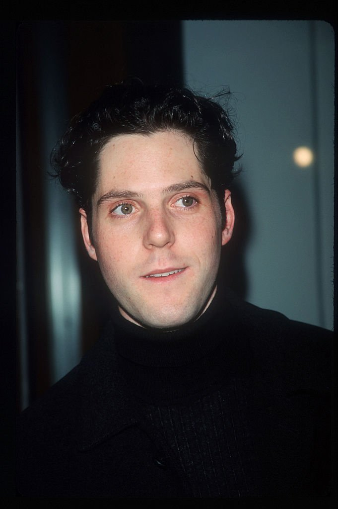 """Alexander Chaplin attends the """"Spin City"""" party September 21, 1999 in New York City. 
