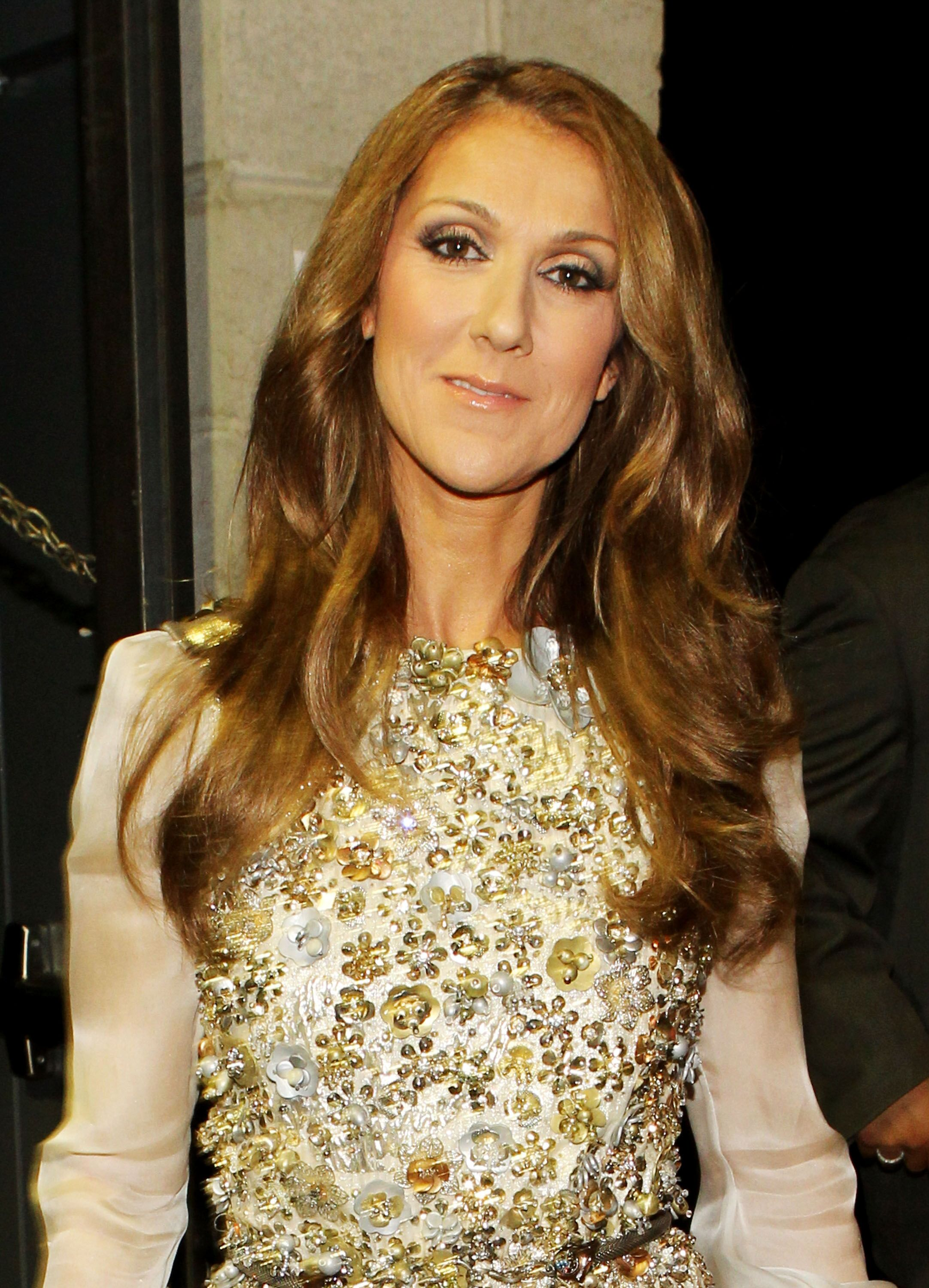 Singer Celine Dion backstage during the 52nd Annual GRAMMY Awards. | Source: Getty Images