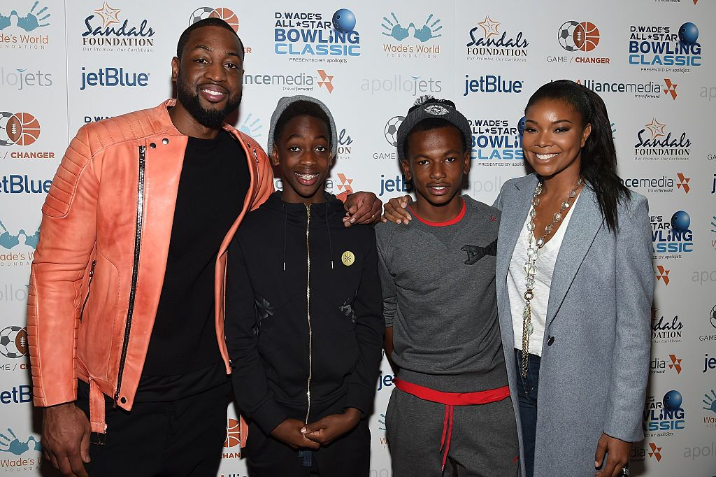 The Wade Family attends Dwyane's All Star Bowling Classic event | Source: Getty Images/GlobalImagesUkraine
