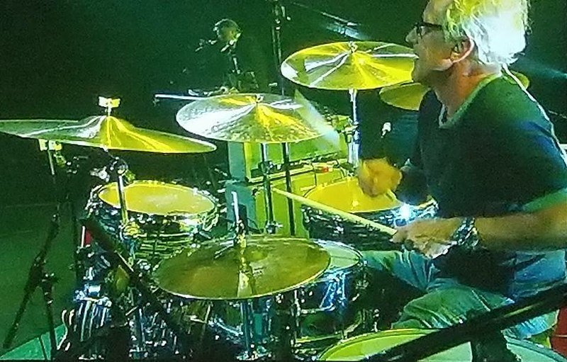 Keith Thibodeaux on drums 2018. | Source: Wikimedia Commons