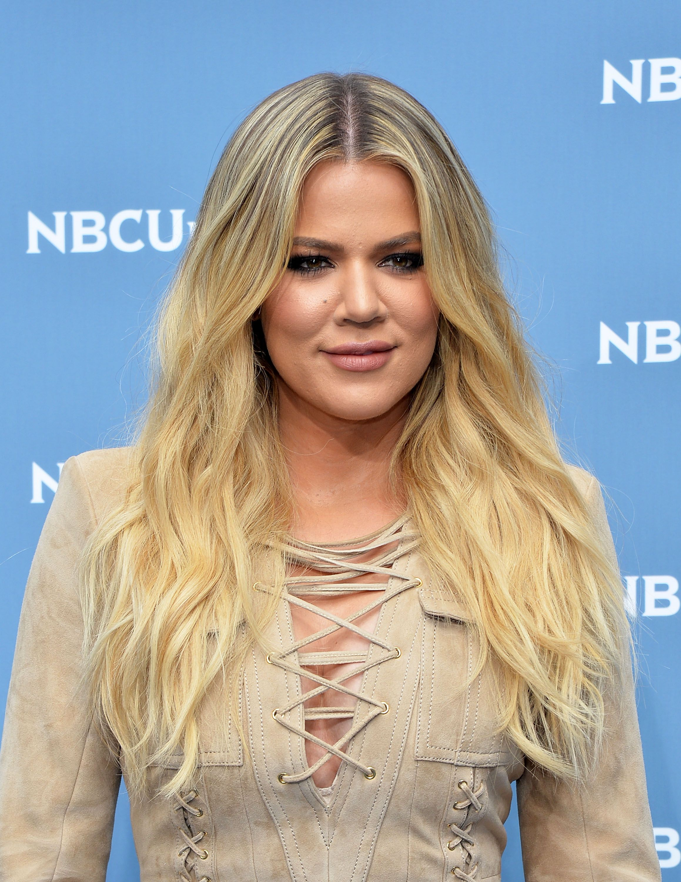 Khloé Kardashian at the NBCUniversal Upfront Presentation on May 16, 2016, in New York | Photo: Slaven Vlasic/Getty Images