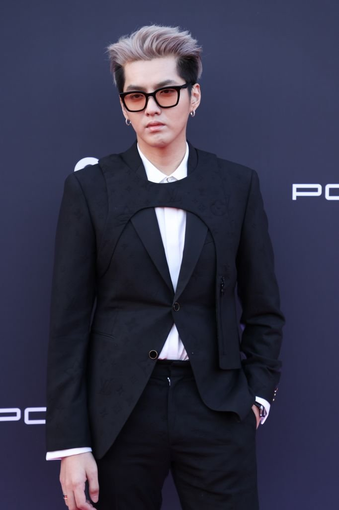 Kris Wu at the Porsche anniversary event on April 17, 2021 in Shanghai, China.   Photo: Getty Images