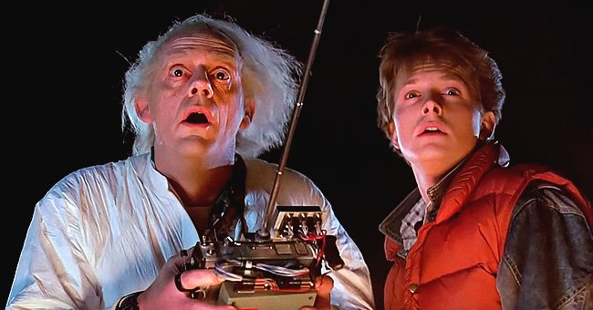 Christopher Lloyd and Michael J Fox of 'Back to the Future' Reunite 35 Years after the Movie Aired