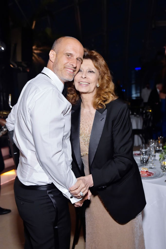 Eduardo Ponti and Sophia Loren at the Academy Museum of Motion Pictures on September 25, 2021 | Photo: Getty Images