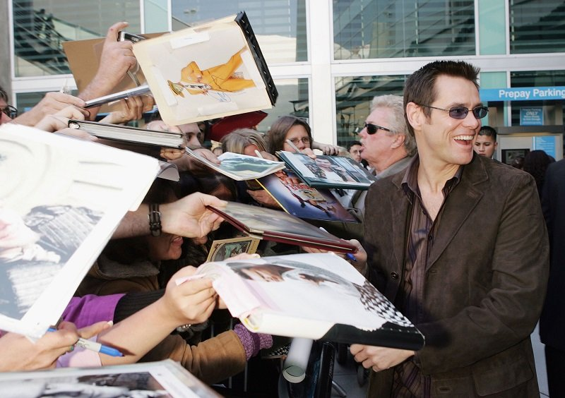 Jim Carrey on December 12, 2004 in Los Angeles, California | Photo: Getty Images