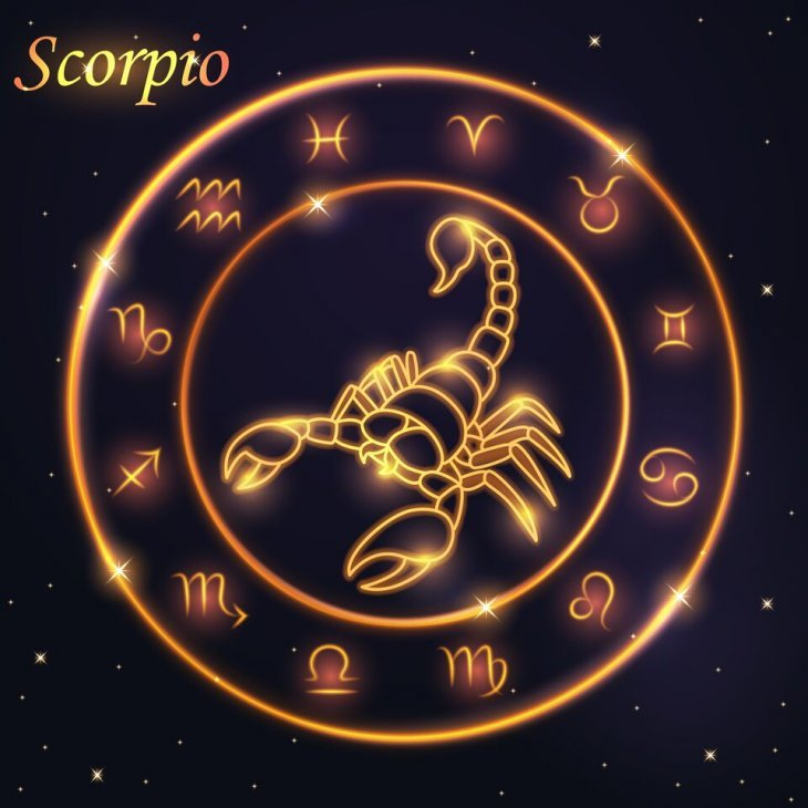 Signo de Escorpión / Imagen tomada de: Shutterstock
