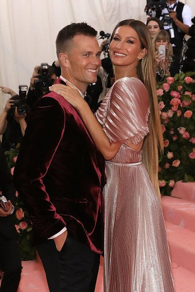 Gisele Bundchen and Tom Brady at The Metropolitan Museum of Art on May 6, 2019 in New York City. | Photo: Getty Images