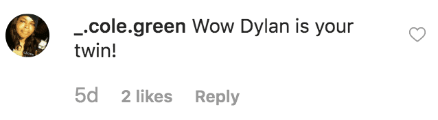 A fan comments on a throwback picture of Michael Douglas from his days in high school | Source: instagram.com/michaelkirkdouglas