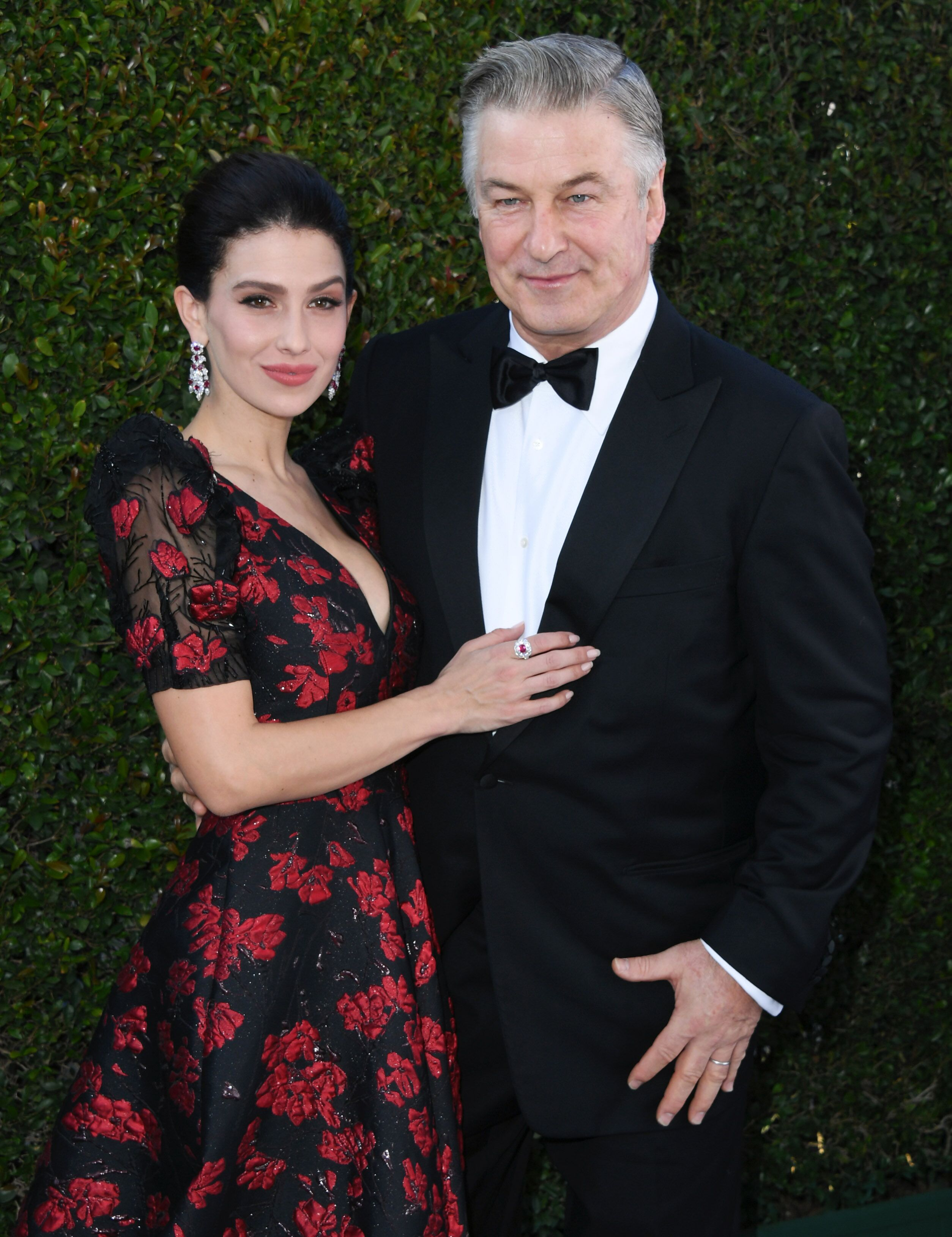 Hilaria Baldwin and Alec Baldwin at the 25th Annual Screen Actors Guild Awards on January 27, 2019. | Source: Getty Images