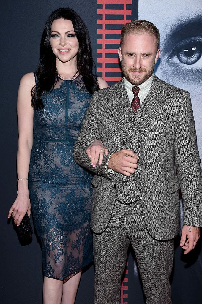 "Laura Prepon and Ben Foster attend the ""The Girl On The Train"" New York Premiere at Regal E-Walk Stadium 13 on October 4, 2016. 