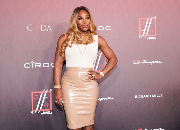 Serena Williams attends Sports Illustrated Fashionable 50 at The Sunset Room on July 18, 2019 in Los Angeles, California | Photo: Getty Images