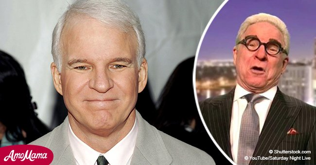 Steve Martin made a surprising return to 'Saturday Night Live' in a brand new role