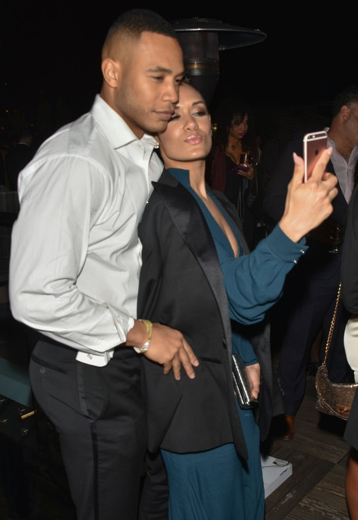 Grace Gealey & Trai Byers at Primary Wave Hosts Their 11th Annual Pre-Grammy In Partnership With Smirnoff Vodka on Feb. 11, 2017 in West Hollywood | Photo: Getty Images