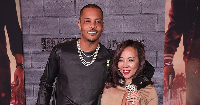 Tiny Harris Shares a Cute Photo Posing with Her Husband TI as She Reflected on Their Wedding