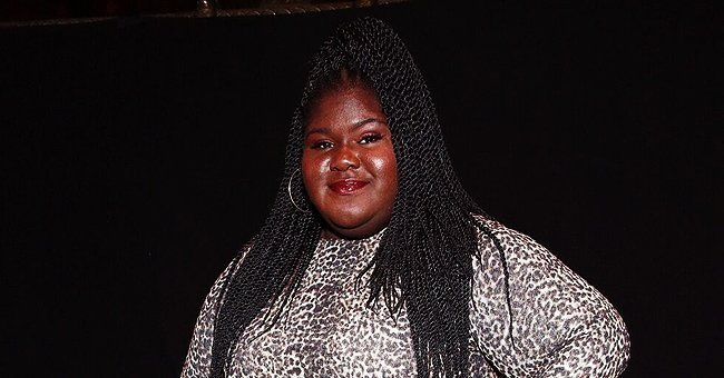 Gabourey Sidibe at the 20th Anniversary Bottomless Closet Luncheon in New York City.| Photo: Getty Images.