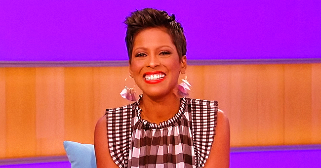 Tamron Hall's 4-Month-Old Son Moses Makes TV Debut on 'Tamron Hall Show' on Mom's 49th Birthday