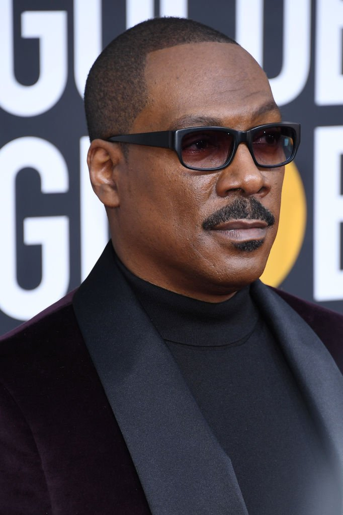 Eddie Murphy arrives on the red carpet at the Golden Globe Awards on January 05, 2020, in Beverly Hills, California   Source: Getty Images (Photo by Daniele Venturelli/WireImage)