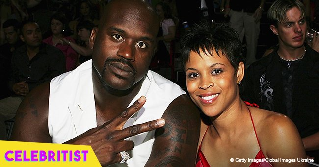Shaquille O'Neal's ex-wife turns heads in skimpy black mini dress & feathered heels in new pic