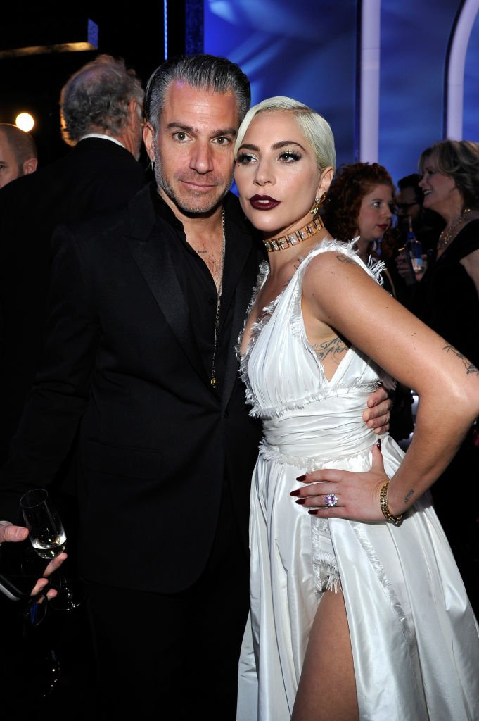 Christian Carino and Lady Gaga att the 25th Annual Screen Actors Guild Awards at The Shrine Auditorium | Photo: Getty Images