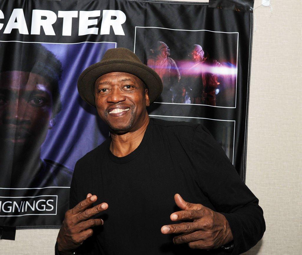 TK Carter attends the Chiller Theatre Expo Fall 2018 at Hilton Parsippany. | Source: Getty Images