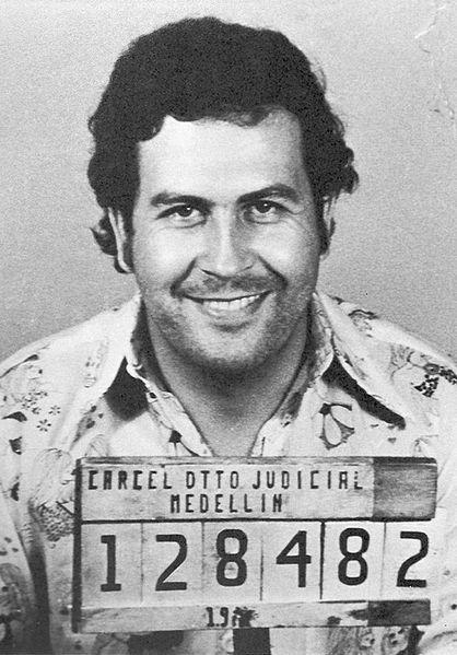 Pablo Emilio Escobar Gaviria, fundador y máximo líder del Cartel de Medellín. | Imagen: Wikipedia