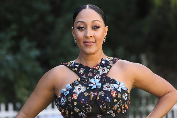 """Tamera Mowry-Housley at Hallmark Channel's """"Home & Family"""" in Universal City, California.