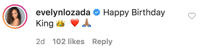 Evelyn Lozada commented on Shaunie O'Neal birthday tribute to her son Myles O'Neal   Source: Instagram.com/shaunieoneal5