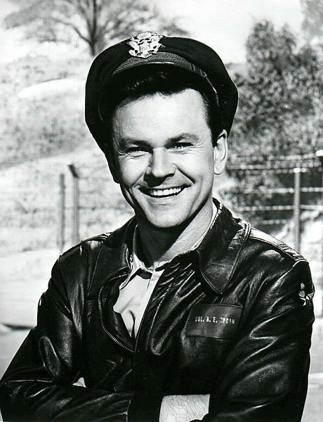 """Bob Crane as Colonel Hogan from the television comedy """"Hogan's Heroes."""" 