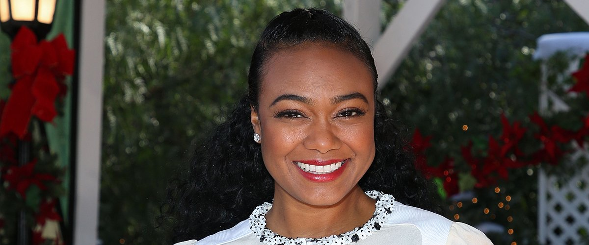 Check Out Tatyana Ali & Her 2 Little Sons Looking like Triplets Posing on Couch in New Family Photo