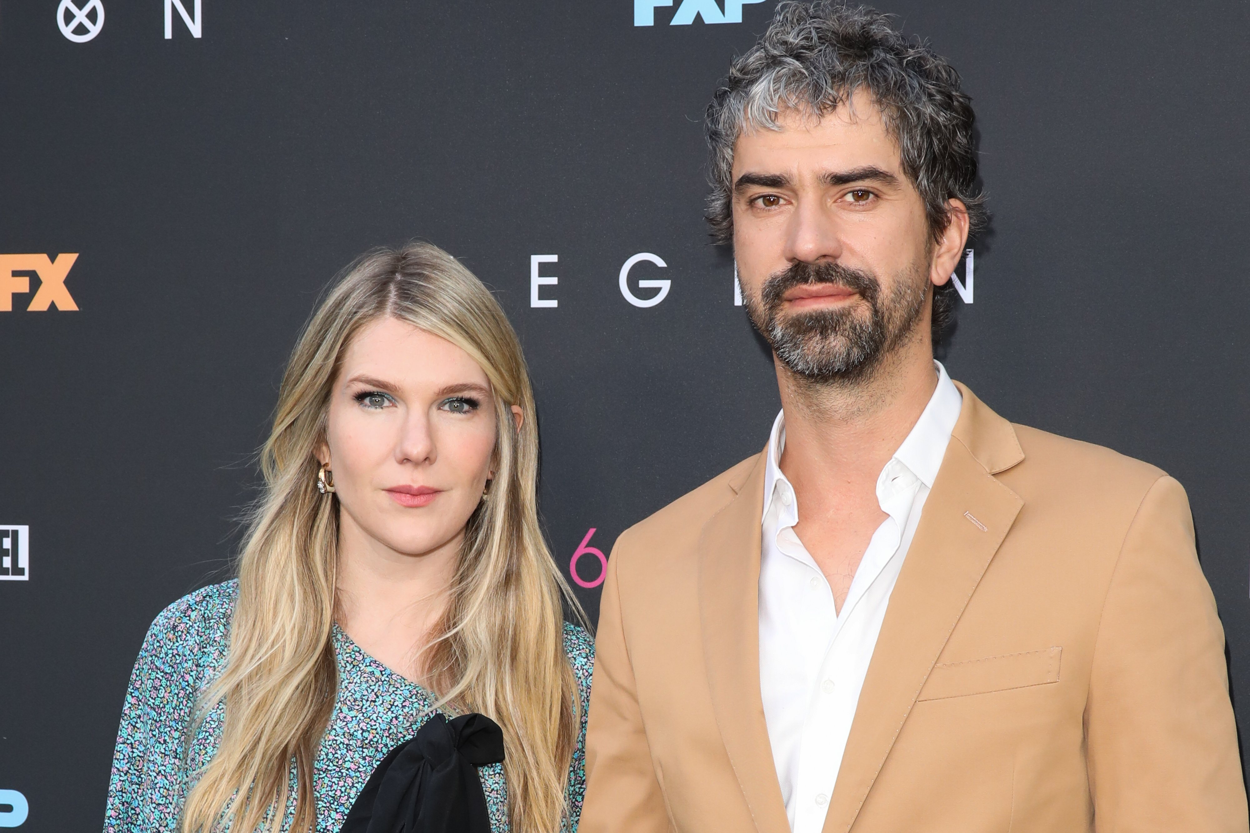"""Lily Rabe and Hamish Linklater attend the LA premiere of FX's """"Legion"""" season 3 at ArcLight Hollywood on June 13, 2019 