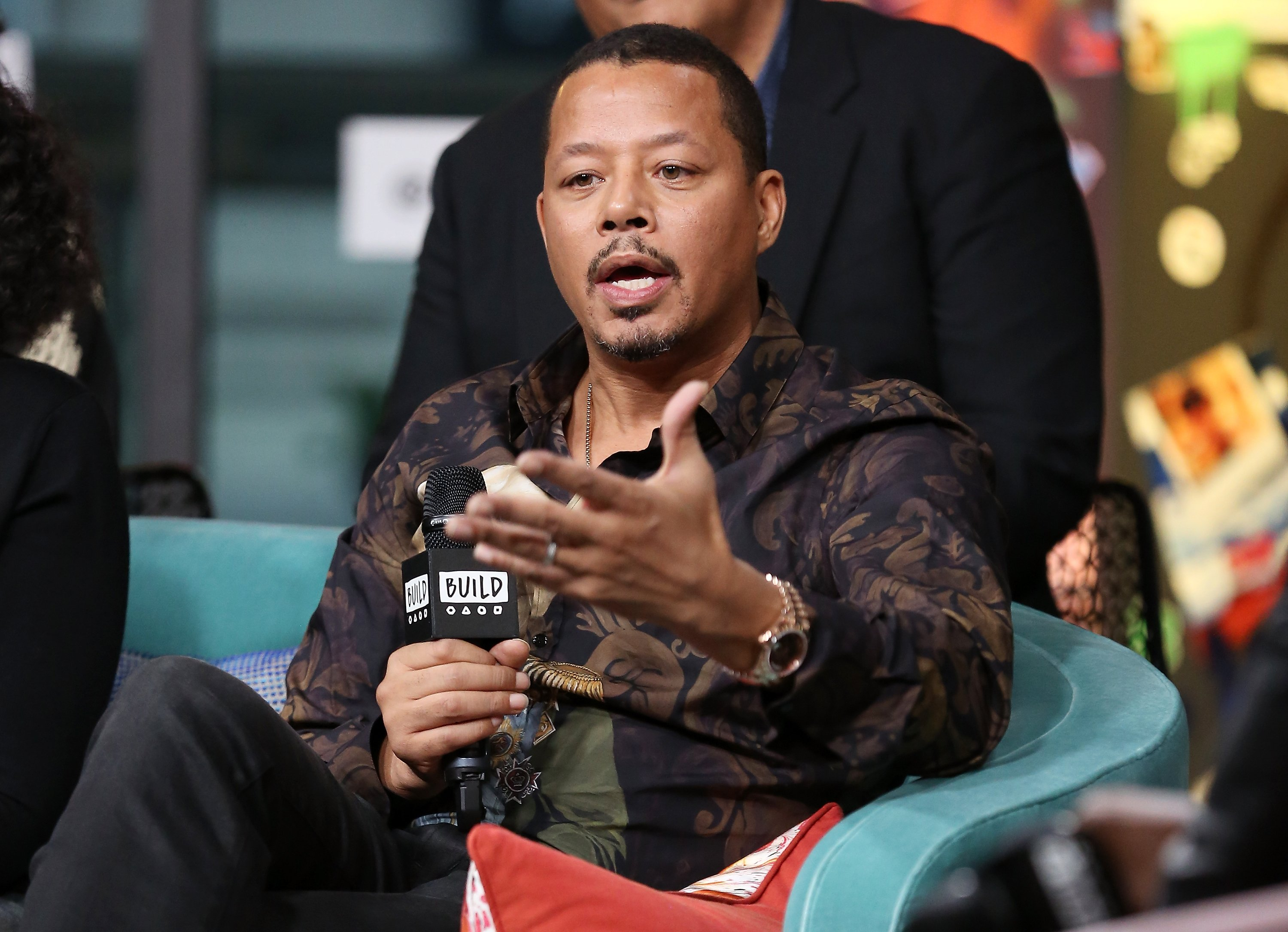 Terrence Howard visits Build Studio on Sep. 24, 2018 in New York City| Photo: Getty Images