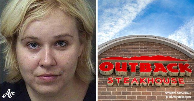 Eine 28-Jährige überfiel ihre Eltern, weil sie sie in ein Restaurant nicht gebracht hatten