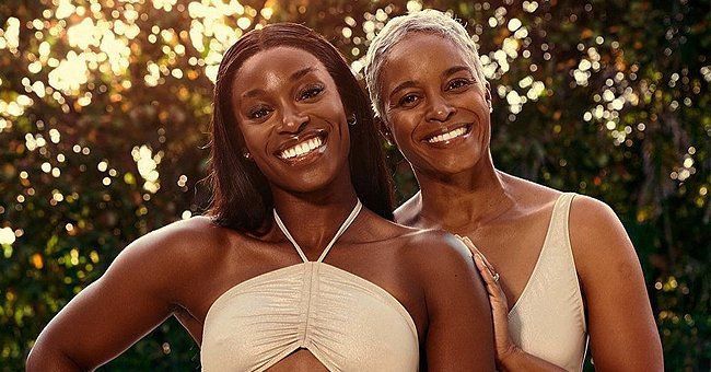 Sloane Stephens & Her Mom Sybil Look like Sisters Posing in Matching Swimsuits on Mother's Day