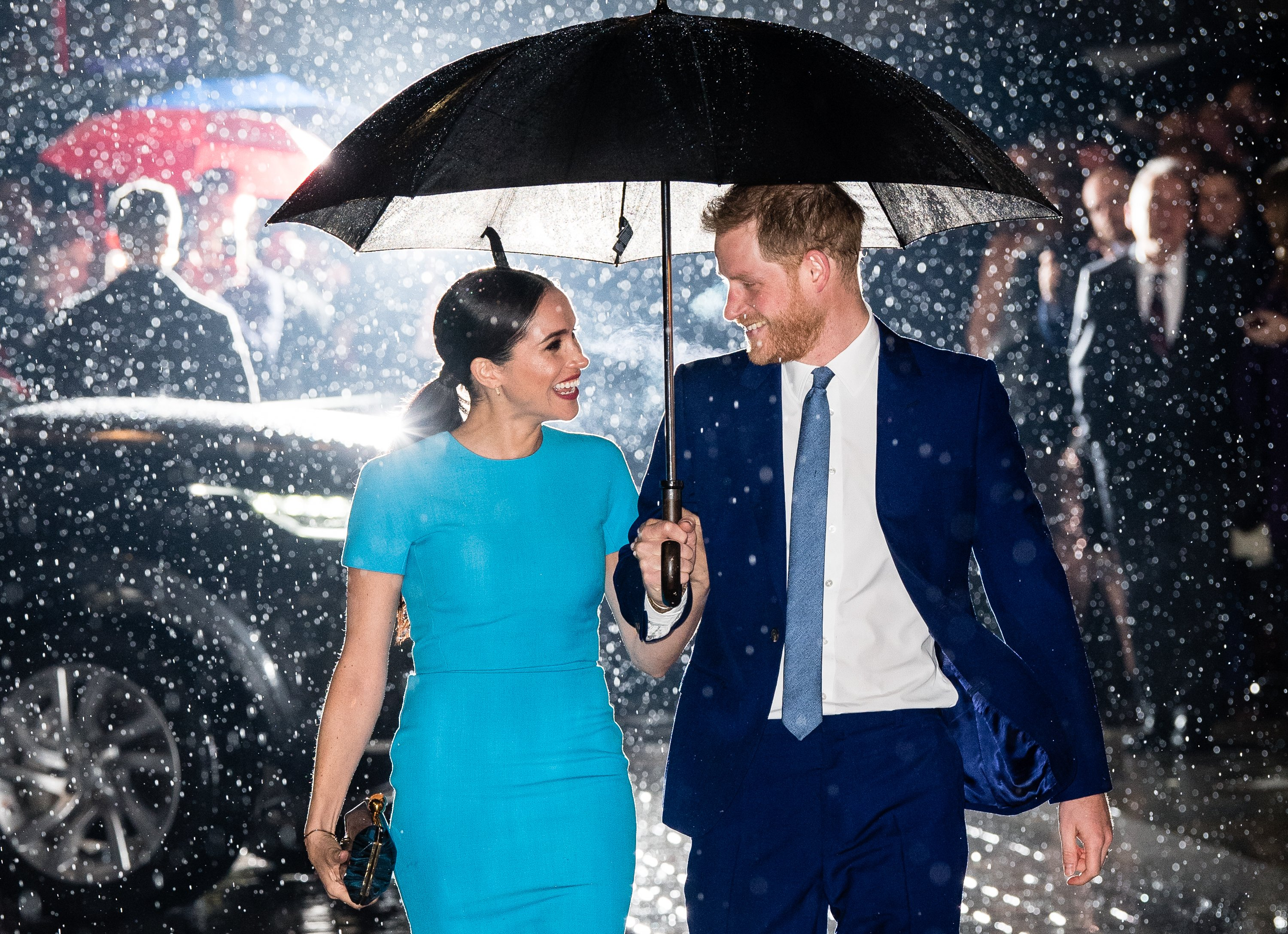 Prince Harry and Meghan Markle attend The Endeavour Fund Awards on March 05, 2020, in London, England. | Source: Getty Images.