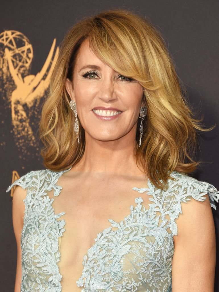 Felicity Huffman at Microsoft Theater on September 17, 2017 in Los Angeles, California | Source: Getty Images/Global Images Ukraine